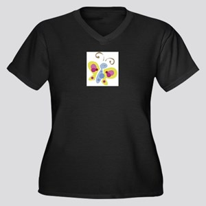 butterfly_cute_0012 Plus Size T-Shirt