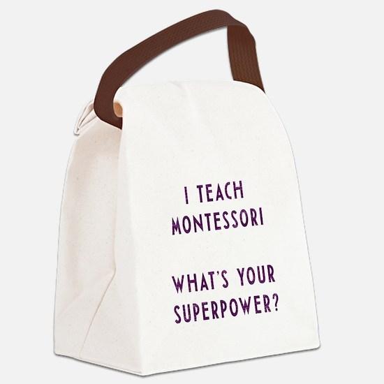 Cool Teach Canvas Lunch Bag