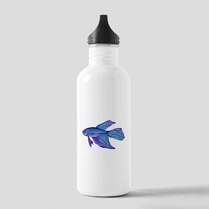 Blue Betta Fish Water Bottle