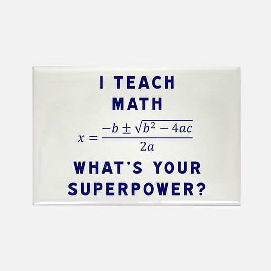 I Teach Math / What's Your Superpower? Magnets