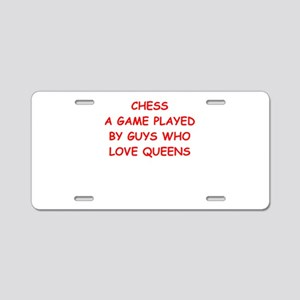 chess Aluminum License Plate