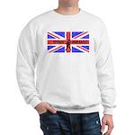 HFPACK HAM RADIO UK Sweatshirt HFpack Insignia bak