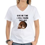 Give Me Time Women's V-Neck T-Shirt