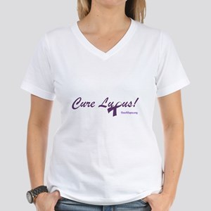 Cure Lupus Women's V-Neck T-Shirt