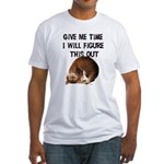 Give Me Time Fitted T-Shirt