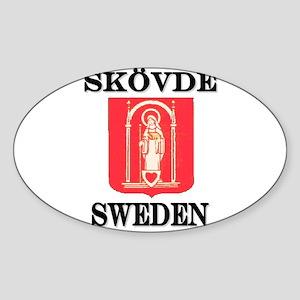 The Skövde Store Oval Sticker