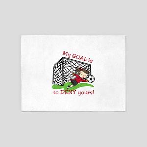 My Goal 5'x7'Area Rug