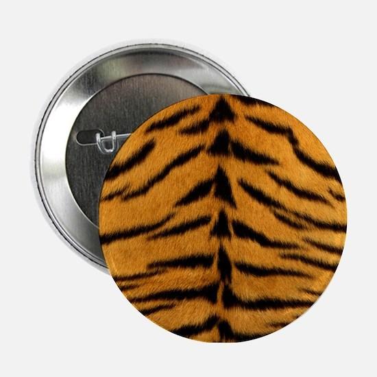 "Tiger Fur Print 2.25"" Button"