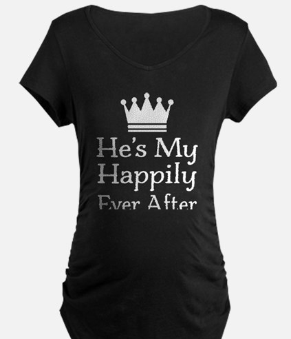 Couples Fairy Tale Maternity T-Shirt