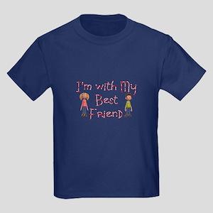 My Best Friend Kids Dark T-Shirt