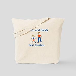 Roberto & Daddy - Best Buddie Tote Bag