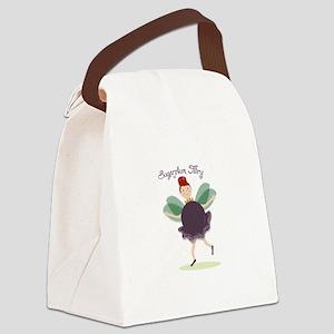 Sugar Plum Fairy Canvas Lunch Bag