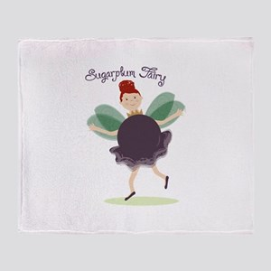 Sugar Plum Fairy Throw Blanket