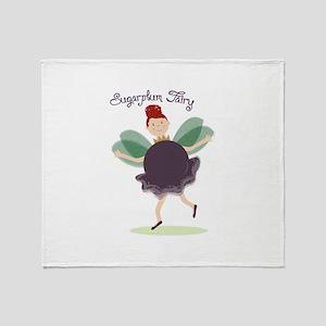 Sugarplum Fairy Throw Blanket