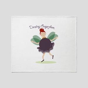 Dancing Sugarplum Throw Blanket