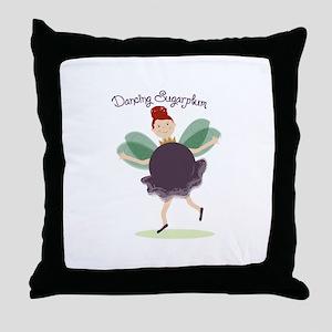 Dancing Sugarplum Throw Pillow