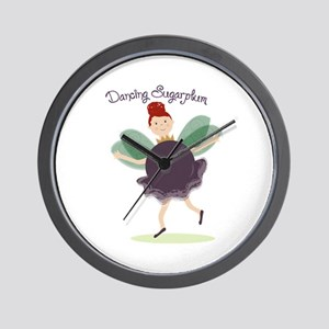 Dancing Sugarplum Wall Clock
