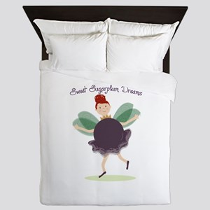 Sugarplum Dreams Queen Duvet