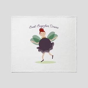 Sugarplum Dreams Throw Blanket