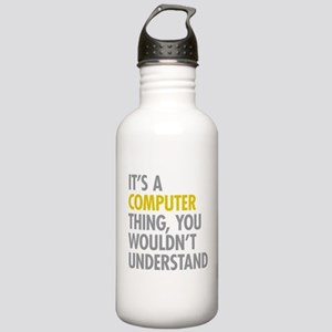 Its A Computer Thing Stainless Water Bottle 1.0L
