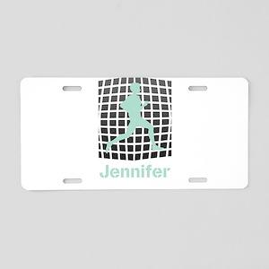 Mint Jogging Personalized Aluminum License Plate