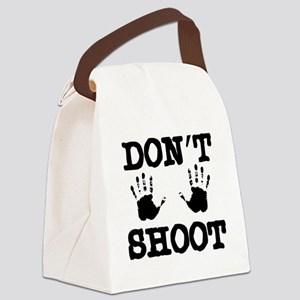 Don't Shoot! Canvas Lunch Bag