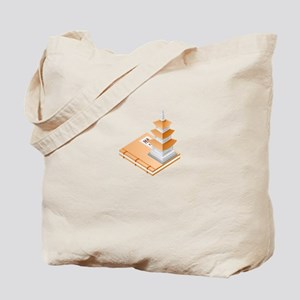 Chinese Temple Book Tote Bag
