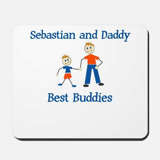 Sebastian & Daddy - Best Budd Mousepad