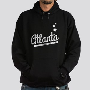 Distressed Retro Atlanta Logo Hoodie