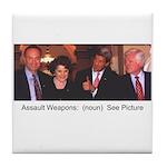 Assault Weapons -- Tile Coaster