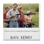 Ban Kerry -- Tile Coaster