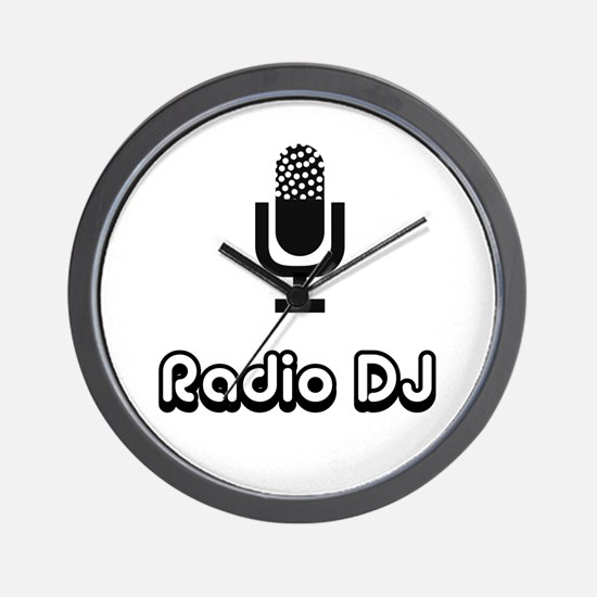 Radio DJ Wall Clock