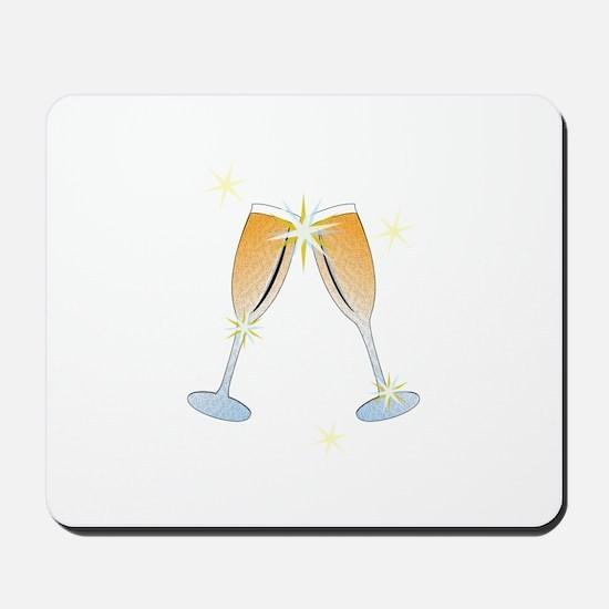 Champagne Toast Mousepad