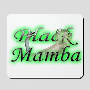 Black Mamba Mousepad
