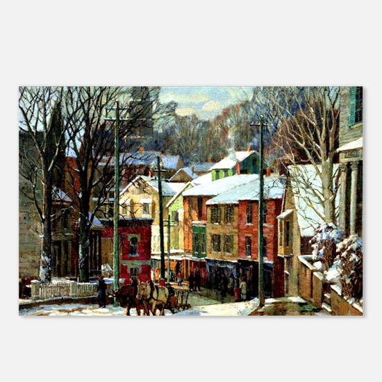 Winter in Gloucester Postcards (Package of 8)