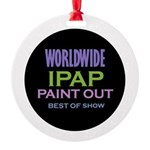 IPAP WORLDWIDE Paint Out Round Ornament