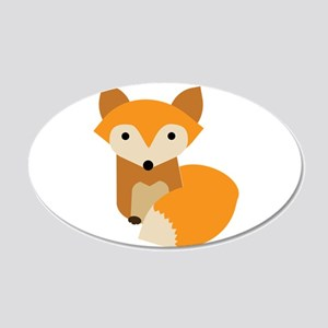 Little Fox Wall Decal