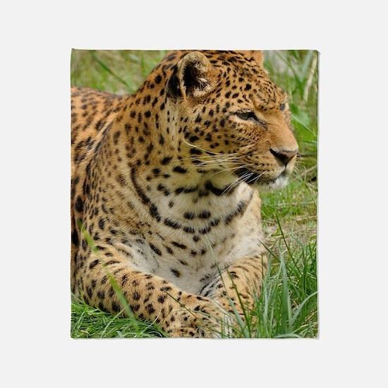 Cute Leopard spots Throw Blanket
