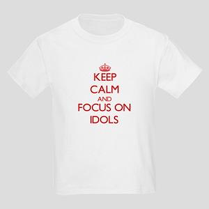 Keep Calm and focus on Idols T-Shirt