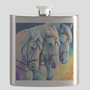 Circuc Horses Flask