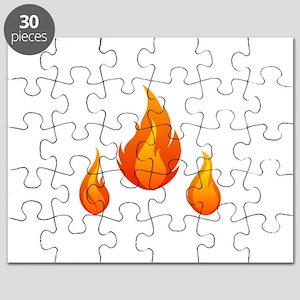 Fire Flames Puzzle