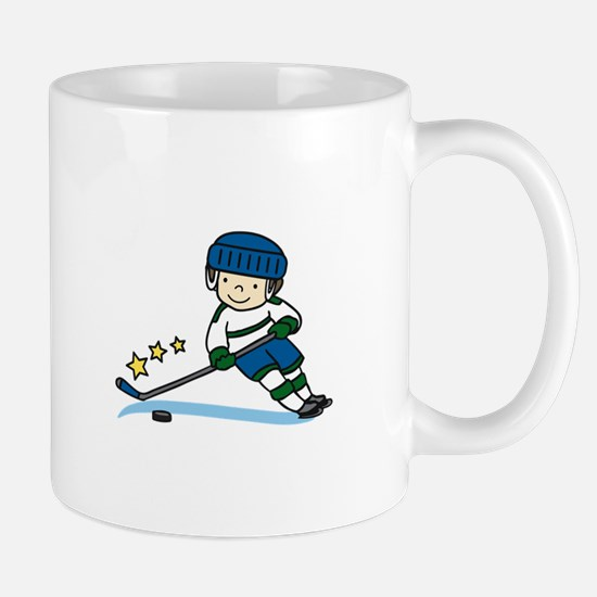 Hockey Boy Mugs