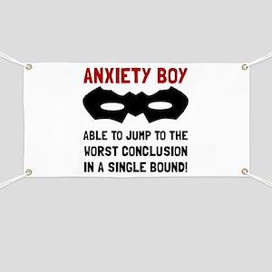 Anxiety Boy Banner