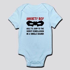 Anxiety Boy Body Suit