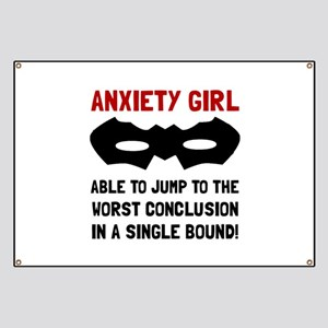 Anxiety Girl Banner