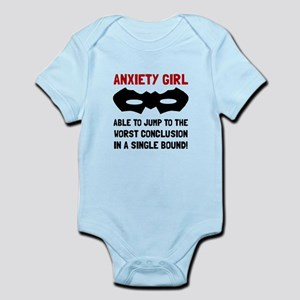 Anxiety Girl Body Suit
