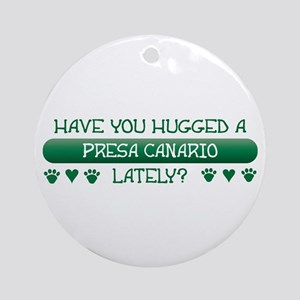 Hugged Presa Ornament (Round)