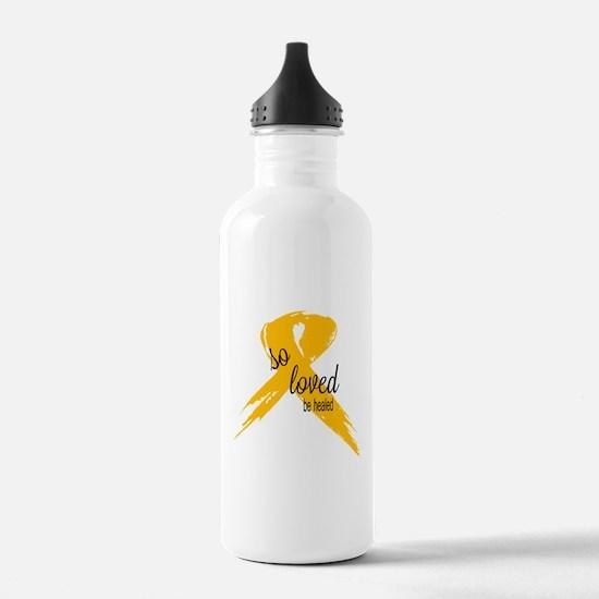 Cute Children cancer Water Bottle
