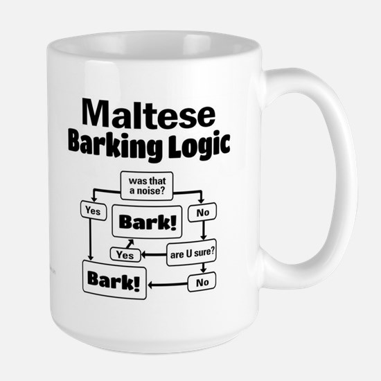 Maltese Logic Large Mug