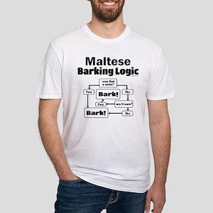 Maltese Logic Fitted T-Shirt